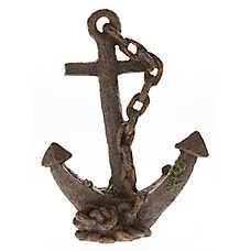 Top Fin® Sunken Anchor Aquarium Ornament
