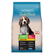 Authority® Tender Blends Puppy Food - Beef & Rice