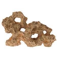 Top Fin® Tan Rock Aquarium Ornament