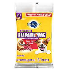 PEDIGREE® JUMBONE® Medium Dog Treat - Beef