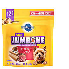 PEDIGREE® JUMBONE® Mini Dog Treat - Beef