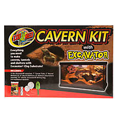 Zoo Med™ Cavern Kit with Excavator