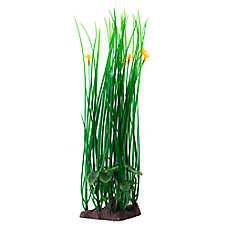 Top Fin® Green with Orange Flowers Aquarium Plant