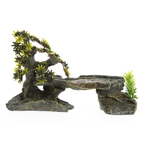 All living things slate basking platform reptile for Decoration habitat
