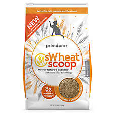 Swheat Scoop® Premium+ Natural Cat Litter - Clumping