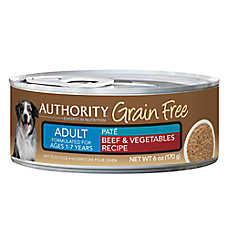 Authority® Grain Free Adult Dog Food - Beef & Vegetables