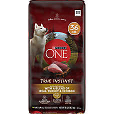 Purina ONE® Smartblend® True Instinct Adult Dog Food - Turkey & Venison
