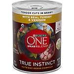 Purina ONE® Smartblend® True Instinct Adult Dog Food - Turkey & Venison in Gravy