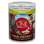 Purina ONE® Smartblend® True Instinct Adult Dog Food - Chicken & Duck in Gravy
