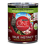 Purina ONE® Smartblend® True Instinct Adult Dog Food - Chicken & Duck