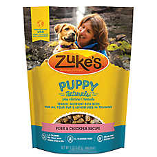 Zuke's® Puppy Naturals Puppy Treat - Grain Free, Pork & Bacon