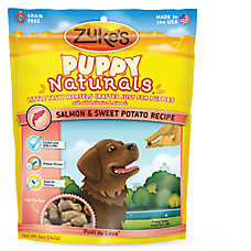 Zuke's® Puppy Naturals Puppy Treat - Grain Free, Salmon & Sweet Potato