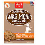 Cloud Star ® Wag More Bark Less® Dog Treat - Natural, Grain Free, Peanut Butter & Apples