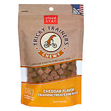 Cloud Star® Tricky Trainers® Chewy Dog Treat - Cheddar