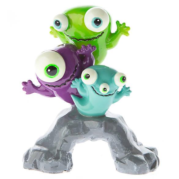 Top fin glow monsters aquarium ornament fish ornaments for Petsmart fish decor