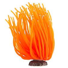 Top Fin® Orange Anemone Aquarium Ornament