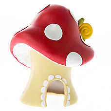 Top Fin® Mushroom Hut Aquarium Ornament