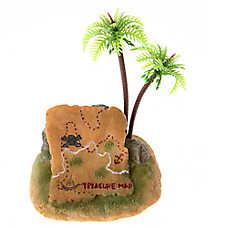 Top Fin® Treasure Map Aquarium Ornament