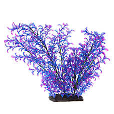 Top Fin® Purple and Blue Artificial Aquarium Plant