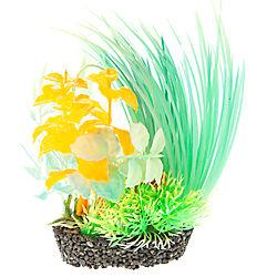 Top Fin® Glow Green and Orange Aquarium Plant