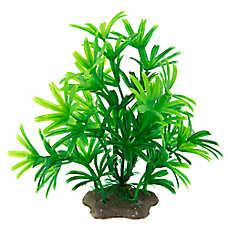 Top Fin® Artificial Green Palm Aquarium Plant