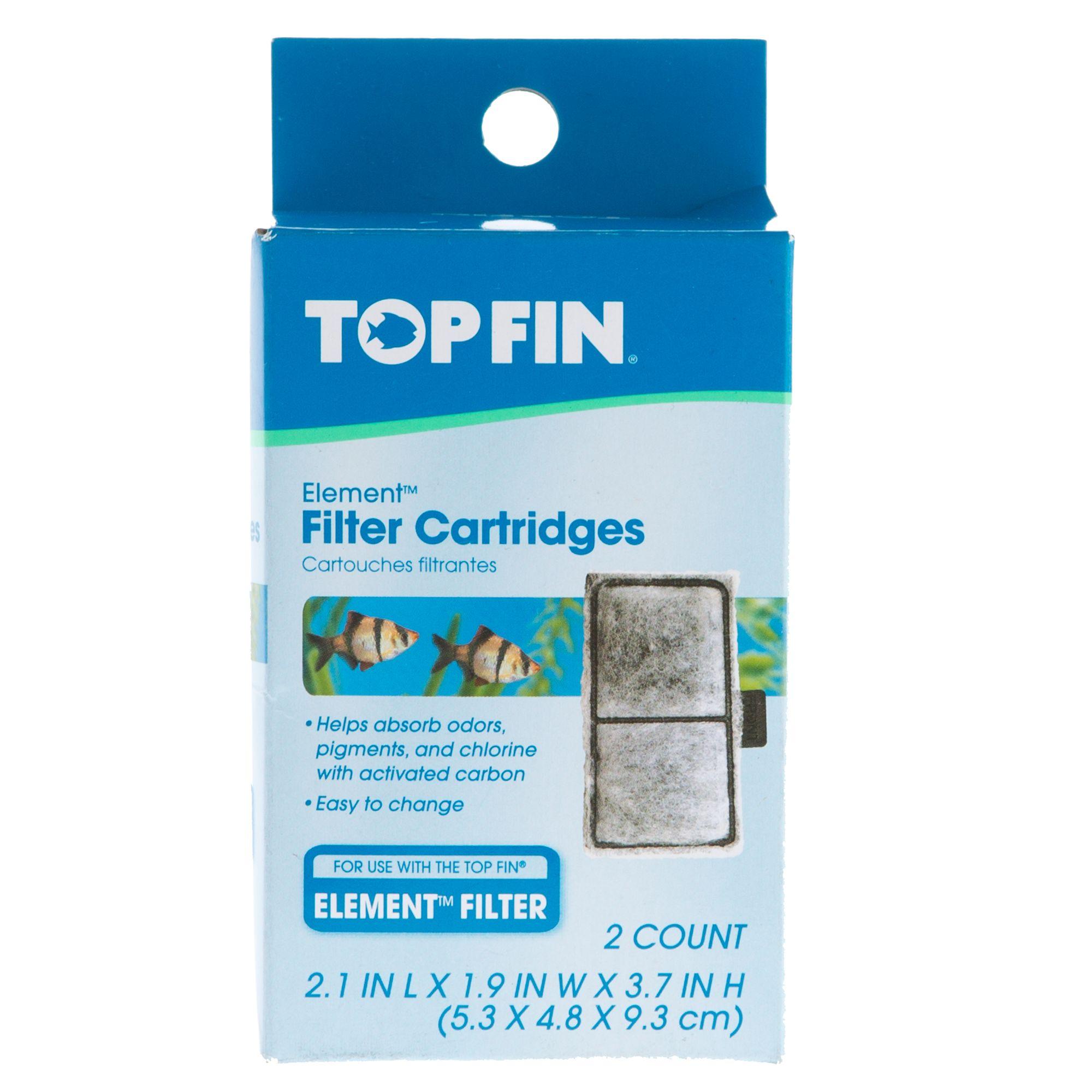 Top Fin Element Filter Cartridges Fish Filter Media Petsmart