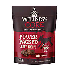 Wellness® CORE® Pure Rewards Jerky Dog Treat - Grain Free, Natural, Beef