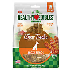 Nylabone® Healthy Edibles® Bacon Buddies Dog Treats