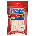 Dentley's® Rawhide Rolls Medium Dog Treat
