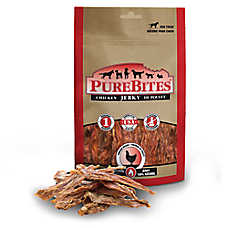 PureBites® Jerky Dog Treat - Natural, Chicken