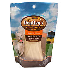 Dentley's® Nature's Chews Center Cut Femur Bone Large Dog Treat - Natural