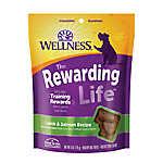 Wellness® Soft Wellbites Dog Treat - Natural, Grain Free, Lamb & Salmon