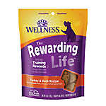 Wellness® Soft Wellbites Dog Treat - Natural, Grain Free, Turkey & Duck