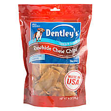 Dentley's® Rawhide Chew Chips Dog Treat - Chicken