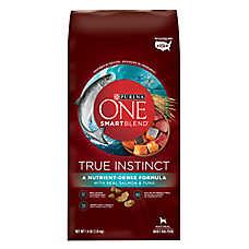 Purina ONE® Smartblend® True Instinct Adult Dog Food - Salmon & Tuna