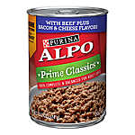 Purina® ALPO® Prime Classics Dog Food - Beef, Bacon & Cheese