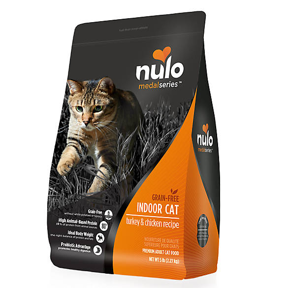 Nulo MedalSeries Indoor Adult Cat Food - Grain Free ...