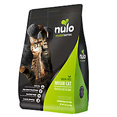 Nulo MedalSeries Indoor Adult Cat Food - Grain Free, Duck & Cod