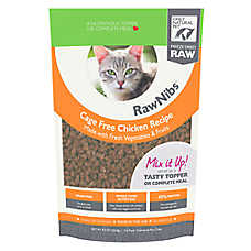 Only Natural Pet RawNibs Cat Food - Freeze Dried Raw, Grain Free, Chicken
