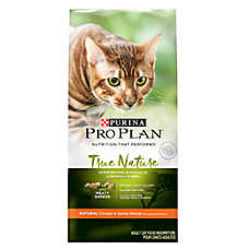 Purina® Pro Plan® True Nature Adult Cat Food - Natural, Chicken & Barley