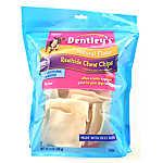 Dentley's® Rawhide Chew Chips Medium Dog Treat - Natural
