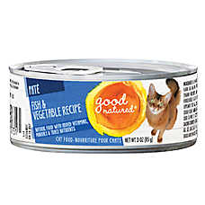 Good Natured™ Cat Food - Natural, Fish & Vegetable, Pate