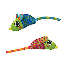 Petstages® Catnip Chew Mice Cat Toy