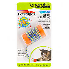 Petstages® ORKAkat™ Catnip Spool Cat Toy