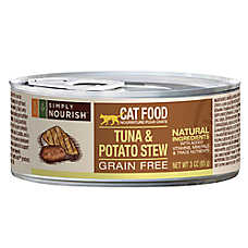 Simply Nourish™ Cat Food - Natural, Grain Free, Tuna & Potato Stew