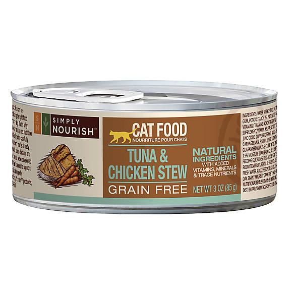 Simply Nourish Chicken Stew Cat Food