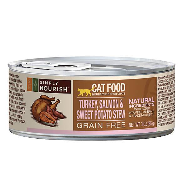 Salmon And Potato Cat Food Nature S Balance