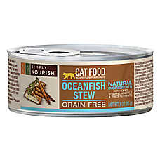 Simply Nourish™ Cat Food - Natural, Grain Free, Oceanfish Stew