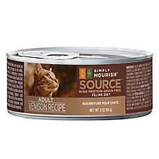 Simply Nourish™ Source Adult Cat Food - Grain Free, High Protein, Venison