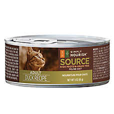 Simply Nourish™ Source Adult Cat Food - Grain Free, High Protein, Duck